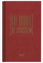 Bible de Jérusalem poche reliée rouge sous coffret