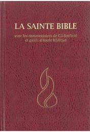 Segond NEG 1979 Bible avec commentaires de Scofield