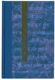Bible en allemand