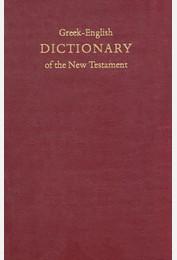Dictionary Greek-English New Testament