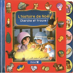 L'histoire de Noël - Cherche et trouve !