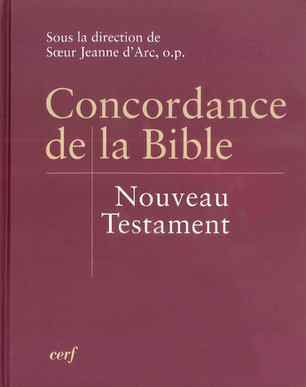 Concordance de la Bible - Nouveau Testament