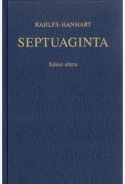L'Ancien Testament grec - Septuaginta