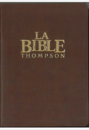 Bible Thompson « Colombe »