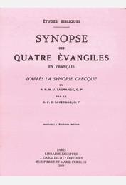 Synopse des quatre évangiles