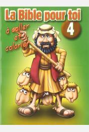 La Bible pour toi / Livret de coloriage - 4 NT : Le ministère de Jésus jusqu