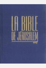 La Bible de Jérusalem - Major