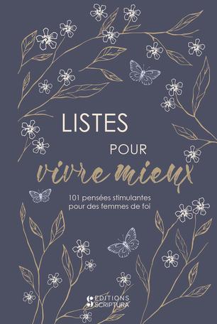 Listes pour vivre mieux