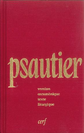 Psautier liturgique