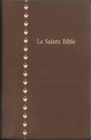 La Sainte Bible « Colombe »