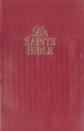 La Sainte Bible - Bible « Vie »